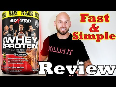 Six Star: Whey Protein Supplement Review