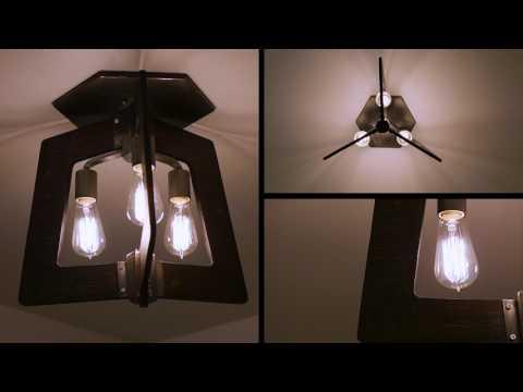 Video for Lofty Steel  Six-Light Chandelier