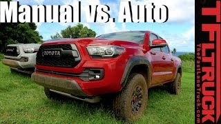2017 Toyota Tacoma TRD Pro: Manual vs. Automatic Off-Road Review by The Fast Lane Truck