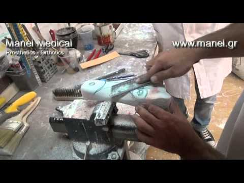 How to make custom insoles by Manel Medical orthopedics laboratory