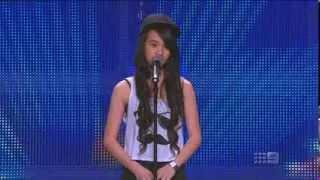Australia's Got Talent 2013 - Angel Tairua - Diamonds
