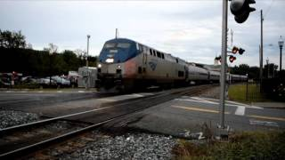 White River Junction (VT) United States  City new picture : Amtrak's Vermonter Northbound at White River Junction Vermont