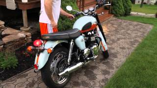 3. Triumph Bonneville - Rare- Only 160 in the US....... updated