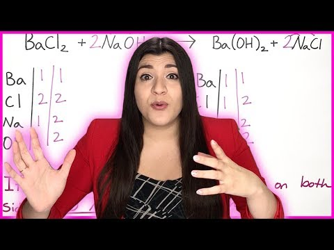 Balancing Chemical Equations Step By Step Practice Problems | How To Pass Chemistry
