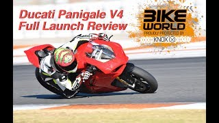 6. Ducati Panigale V4 Full Launch Review