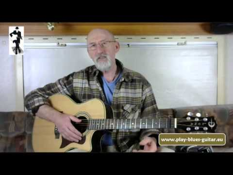 Jim Bruce Acoustic Blues Guitar Classes Streamed Online