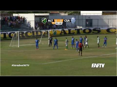 Oitavas de final do Brasileiro da série D: assista Altos-PI X CSA