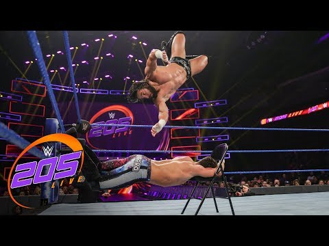 Noam Dar Vs. Tony Nese - No Disqualification Match: WWE 205 Live, Feb 12, 2019