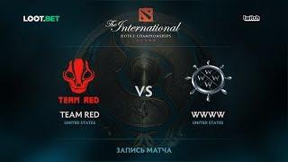 Team Red vs WWWW, The International 2017 NA Qualifier