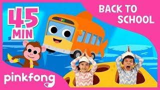 Video Baby Shark and 20+ songs   Back to School with Pinkfong  +Compilation   Pinkfong Songs for Children MP3, 3GP, MP4, WEBM, AVI, FLV Agustus 2018