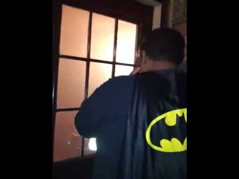 Batman gets locked out
