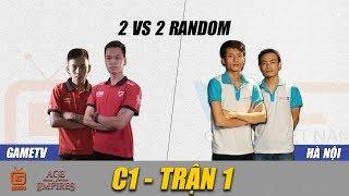 2vs2 Random | GameTV vs Hà Nội | Ngày 22-08-2018. BLV: Hải MariO