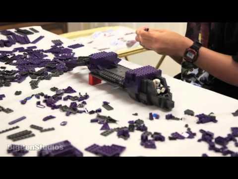 Halo - Covenant Phantom #96941 Time Lapse Build