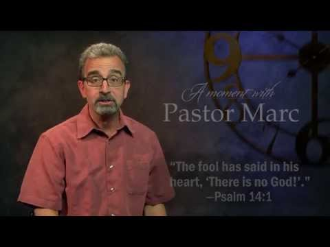 "A Moment with Pastor Marc #2<br /><strong>""Don't Be Foolish""</strong>"