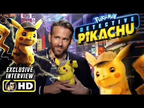 Ryan Reynolds Interview for Pokemon: Detective Pikachu