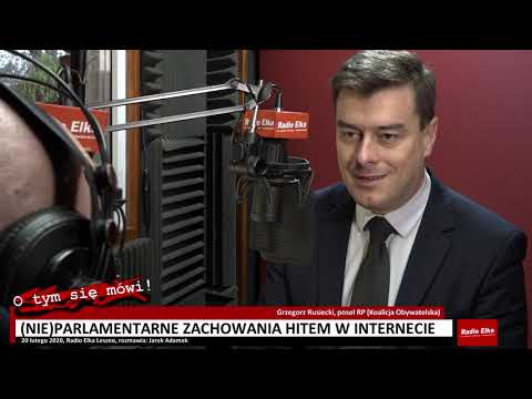 Wideo1: Grzegorz Rusiecki: nie zamierzam w takim teatrzyku brać udziału