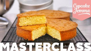 WHAT'S WRONG WITH MY SPONGE? How To Make The Perfect Sponge Cake, THREE WAYS! | Cupcake Jemma by Cupcake Jemma
