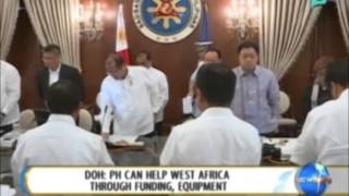 DOH: PH Can Help West Africa Through Funding, Equipment
