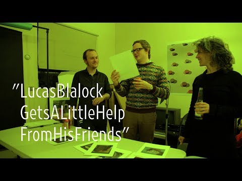 Lucas Blalock Gets a Little Help From His Friends