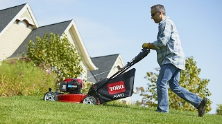 8. All-Wheel Drive Toro Lawn Mower