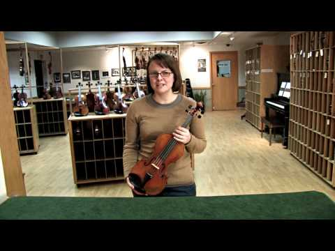 Video - Hill Model 1 Prong Violin String Adjuster | GW2