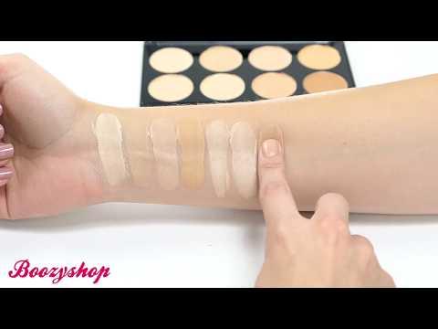 Makeup Revolution Makeup Revolution Ultra Cover and Concealer Palette Light Medium