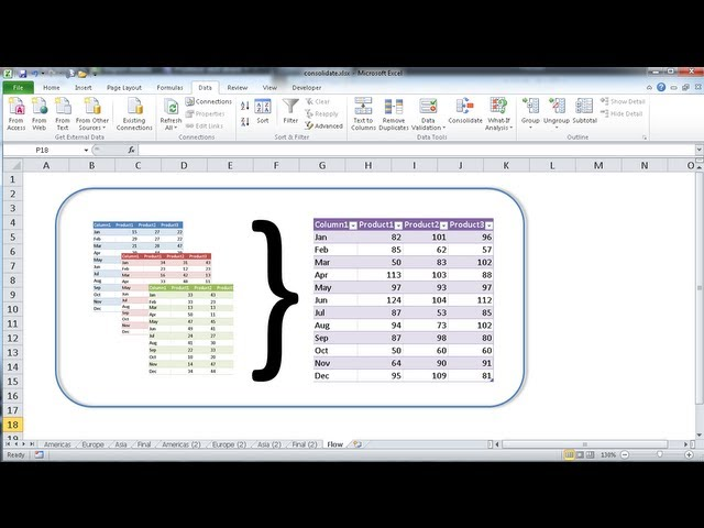 All Worksheets Consolidate Multiple Worksheets Into One Free – Consolidate Multiple Worksheets into One