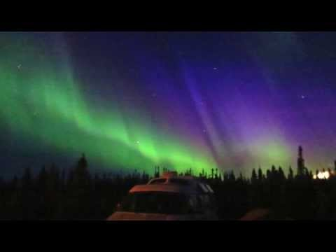 Seeing Incredible Northern Lights from a Camper Van