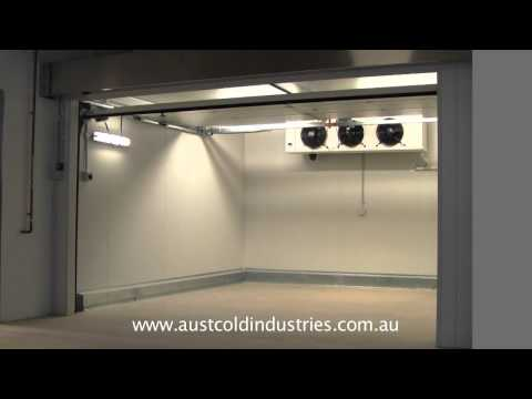 Automatic Insulated Sectional Doors Video Image