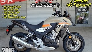 7. 2016 Honda CB500X ABS Review of Specs - Discount SALE Prices @ Honda of Chattanooga TN