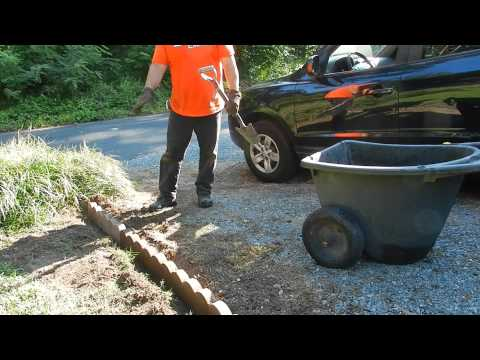 How to Install Landscape Scallop Edging (видео)