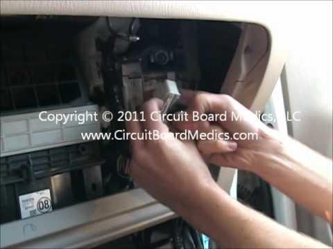 How To Remove And Repair a 2001, 2002, & 2003 Toyota RAV4 ECM ECU