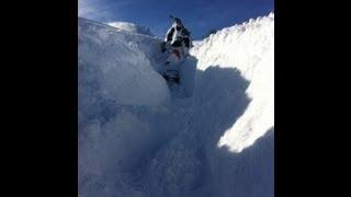 8. 2013 Pro RMK Deep Snow!!! 1080P HD GoPro