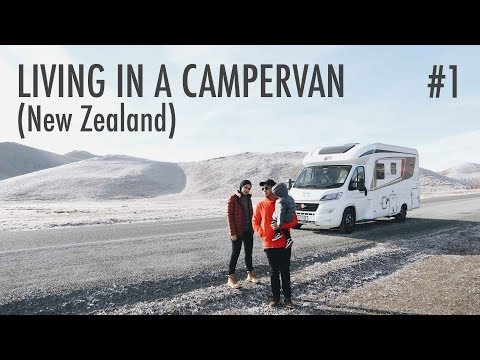 Living in A Campervan: New Zealand #1