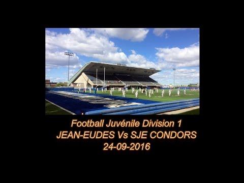 Football Saint-Jean Eudes  Juvénile 2016 :  Aigles de Jean-Eudes Vs Condors de SJE 24-09-2016