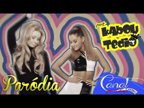 Ariana Grande ft. Iggy Azalea- Problem [Paródia/Redublagem] part. Kabou Tédio