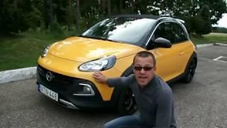 """""""AutoMedia.lv"""" tests: Ar """"Opel Adam Rocks S"""" pārbaudām, vai tiešām mazauto piemērots tikai īsiem braucieniem?"""