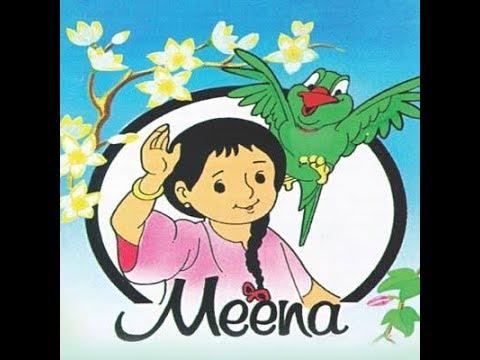 Meena Cartoon in Hindi  old cartoon dd national  kidz video
