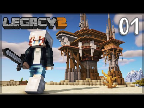 The HUMBLE Starter Base! | Legacy SMP: Episode 01 | Minecraft 1.16 Survival Multiplayer Let's Play