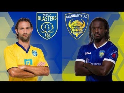 ISL Live - Chennaiyin FC v Kerala Blasters FC
