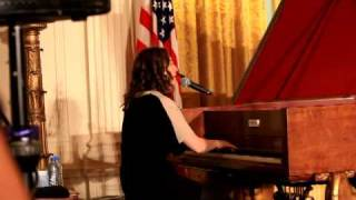 Regina Spektor at the White House