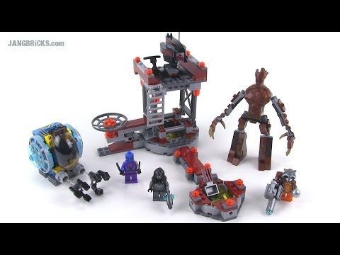 LEGO Guardians of the Galaxy 76020 Knowhere Escape Mission review!