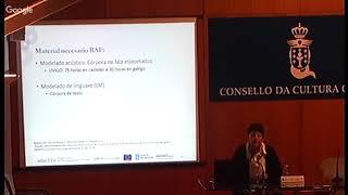 Presentación de sistemas de recoñecemento automático para galego e para lingua de signos española
