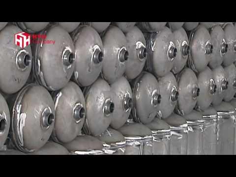 Người ta sản xuất bình chữa cháy như thế nào?