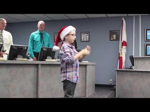 Brant Johnson Signs National Anthem
