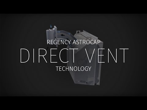 Astrocap Direct Vent Technology for Regency Fireplace Products