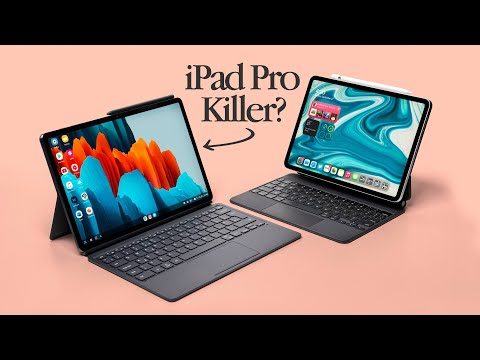 Galaxy Tab S7+ Review by an iPad Pro User!