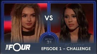 Video Zhavia vs Elanese: They Fight For Their Future in CRAZY Showdown | S1E1 | The Four MP3, 3GP, MP4, WEBM, AVI, FLV Desember 2018