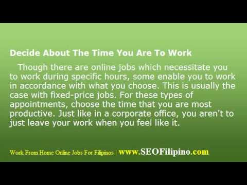 Work At Home Jobs – Golden Tips for Earning Online