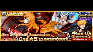 Bleach Brave Souls: Step-ups Summons- Going all the way!(GL)